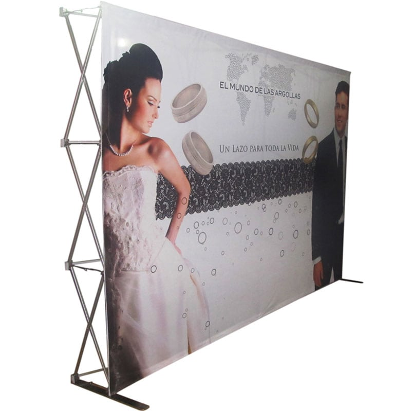 Deluxe Fabric Pop Up Backdrop Unisupply